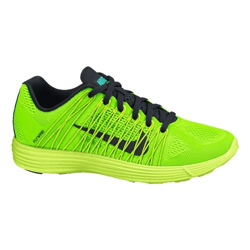 Mens Nike LunaRacer+ 3 Racing Shoe - Lime 12.5