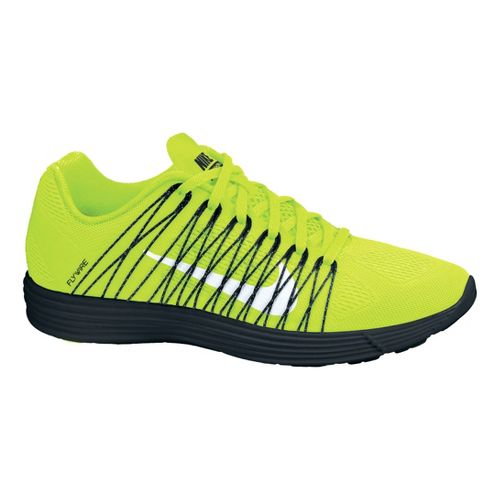 Mens Nike LunaRacer+ 3 Racing Shoe - Volt/Black 8.5
