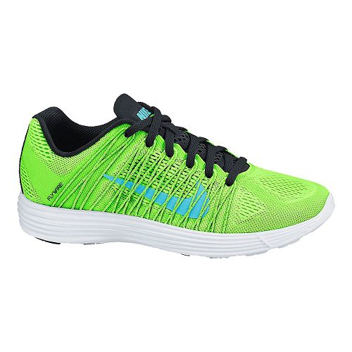 Womens Nike LunaRacer+ 3 Racing Shoe - Lime 10.5
