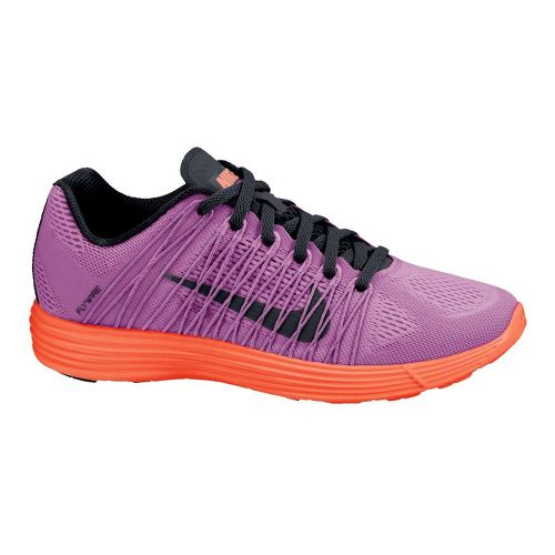 Womens Nike LunaRacer+ 3 Racing Shoe - Purple/Orange 8