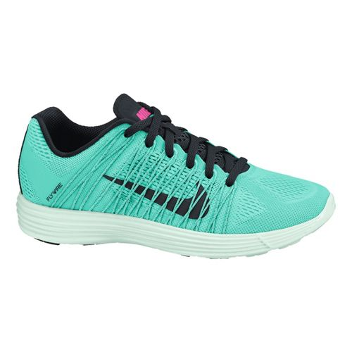 Womens Nike LunaRacer+ 3 Racing Shoe - Turquoise 6.5