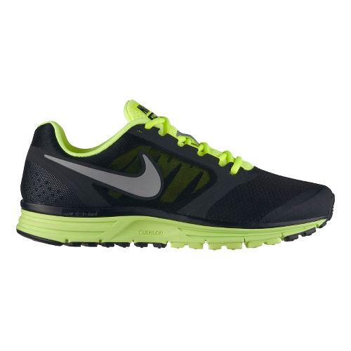 Mens Nike Zoom Vomero+ 8 Running Shoe - Black/Volt 11