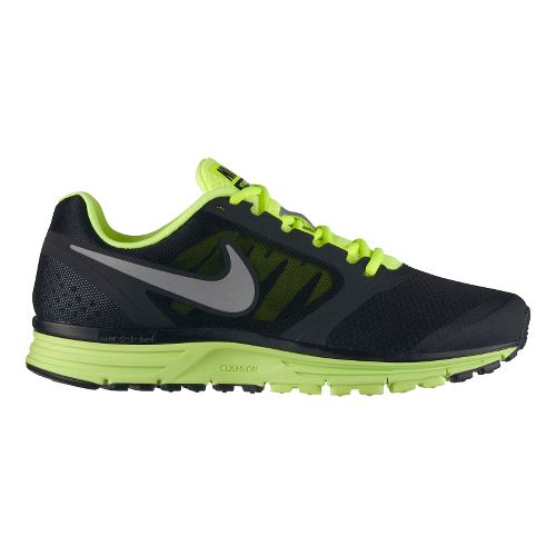 Mens Nike Zoom Vomero+ 8 Running Shoe - Black/Volt 9