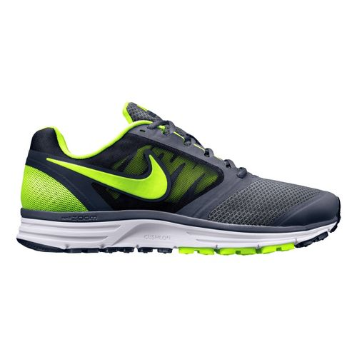 Mens Nike Zoom Vomero+ 8 Running Shoe - Grey/Volt 9