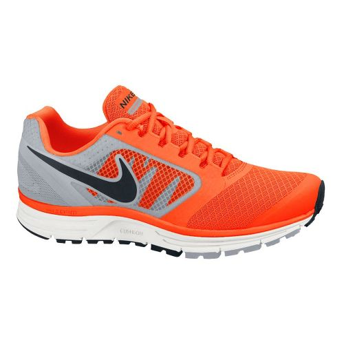 Mens Nike Zoom Vomero+ 8 Running Shoe - Orange/Grey 8.5