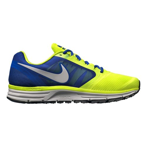 Mens Nike Zoom Vomero+ 8 Running Shoe - Volt/Blue 10.5