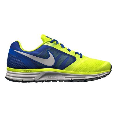 Mens Nike Zoom Vomero+ 8 Running Shoe - Volt/Blue 12.5