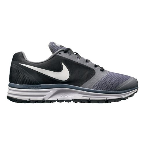 Womens Nike Zoom Vomero+ 8 Running Shoe - Grey/Black 7