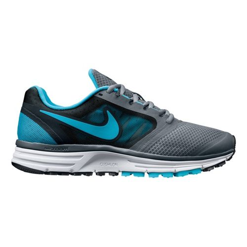 Womens Nike Zoom Vomero+ 8 Running Shoe - Grey/Blue 7.5