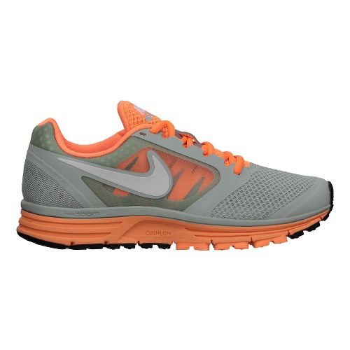 Womens Nike Zoom Vomero+ 8 Running Shoe - Grey/Orange 7.5