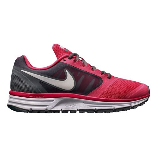 Womens Nike Zoom Vomero+ 8 Running Shoe - Pink/Grey 11.5