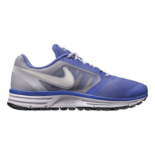 Womens Nike Zoom Vomero+ 8 Running Shoe - Violet/Grey 9
