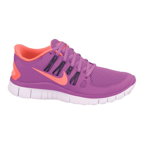 Womens Nike Free 5.0+ Running Shoe - Dark Pink 7.5