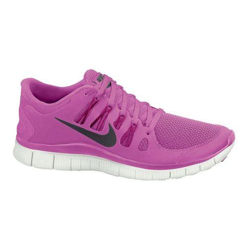 Womens Nike Free 5.0+ Running Shoe - Magenta 7.5