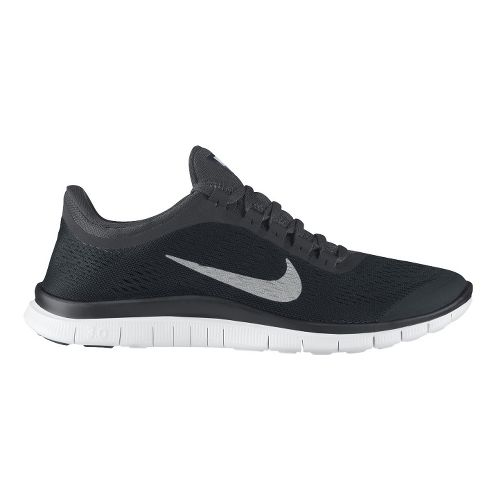 Mens Nike Free 3.0 v5 Running Shoe - Black 12.5