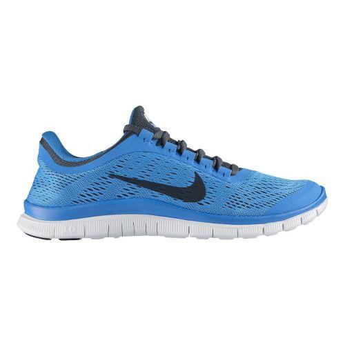 Mens Nike Free 3.0 v5 Running Shoe - Blue 10