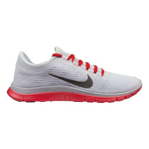 Mens Nike Free 3.0 v5 Running Shoe - Grey/Red 13