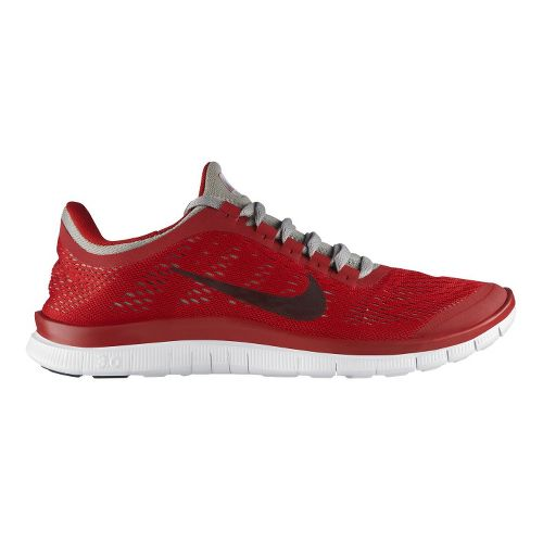 Mens Nike Free 3.0 v5 Running Shoe - Red 10