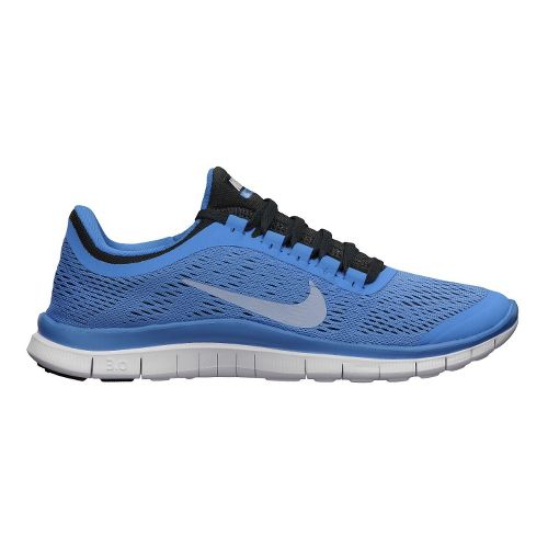 Womens Nike Free 3.0 v5 Running Shoe - Blue 11