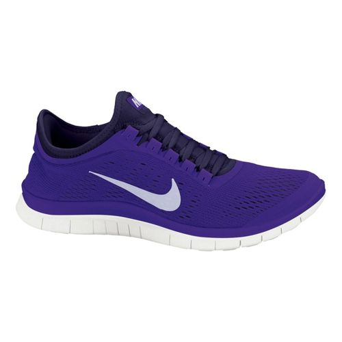 Womens Nike Free 3.0 v5 Running Shoe - Purple 10.5