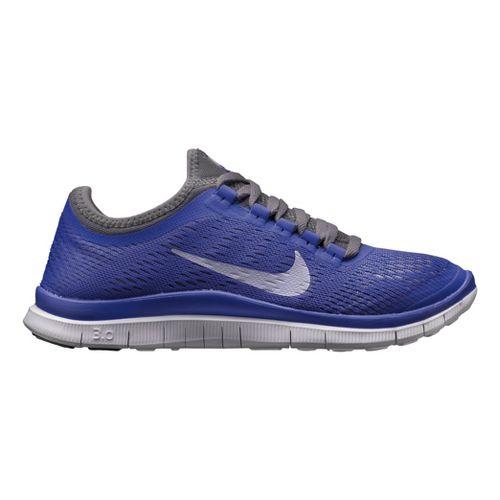 Womens Nike Free 3.0 v5 Running Shoe - Violet/Grey 8.5