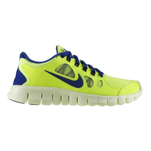 Kids Nike Free Run 5.0 Running Shoe - Volt 3.5