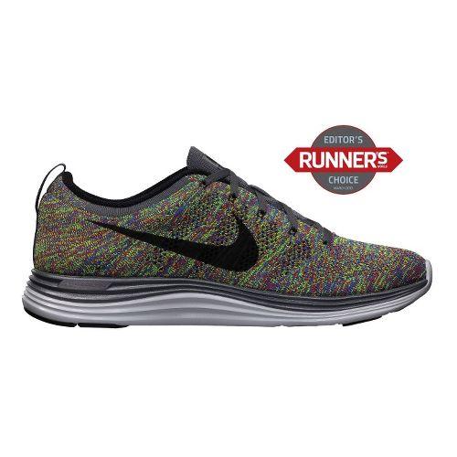Mens Nike Flyknit Lunar1+ Running Shoe - Multi 9.5