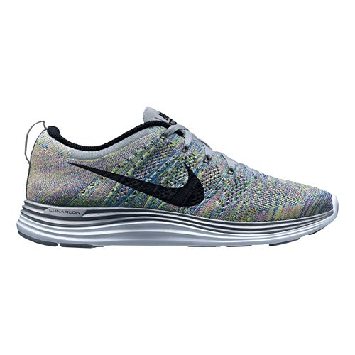 Womens Nike Flyknit Lunar1+ Running Shoe - Multi 10.5