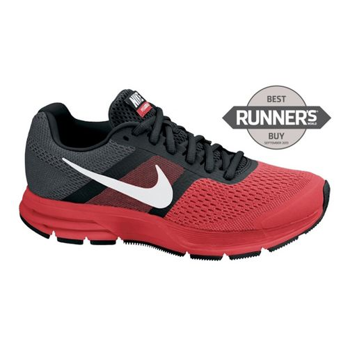 Mens Nike Air Pegasus+ 30 Running Shoe - Black/Red 10.5
