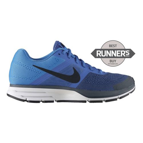 Mens Nike Air Pegasus+ 30 Running Shoe - Blue/Navy 10.5