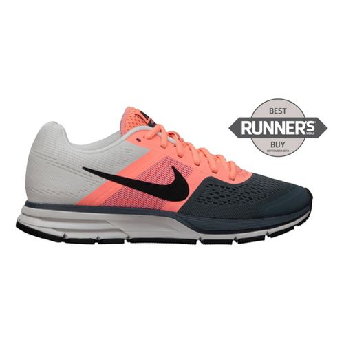 Womens Nike Air Pegasus+ 30 Running Shoe - Atomic Pink/Grey 12