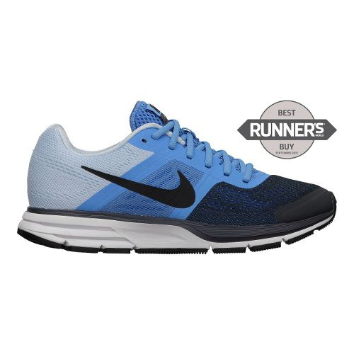 Womens Nike Air Pegasus+ 30 Running Shoe - Blue/Charcoal 9