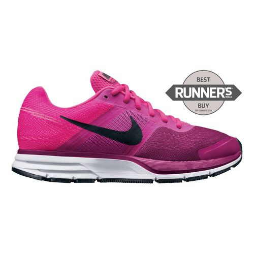 Womens Nike Air Pegasus+ 30 Running Shoe - Pink/Raspberry 8