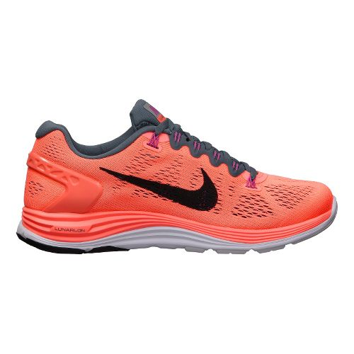 Womens Nike LunarGlide+ 5 Running Shoe - Atomic Pink 7.5