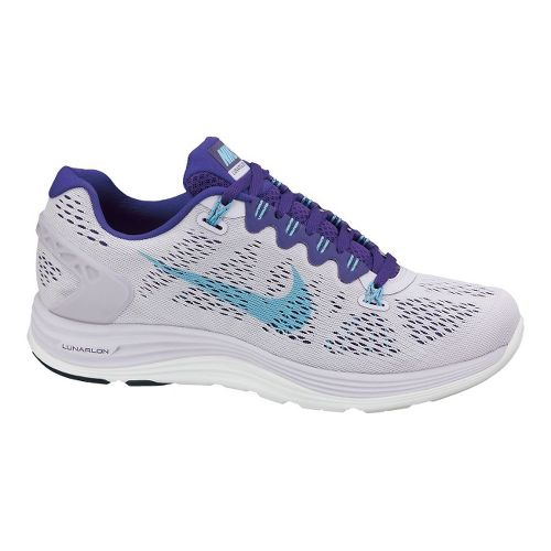Womens Nike LunarGlide+ 5 Running Shoe - Lilac/Purple 7.5