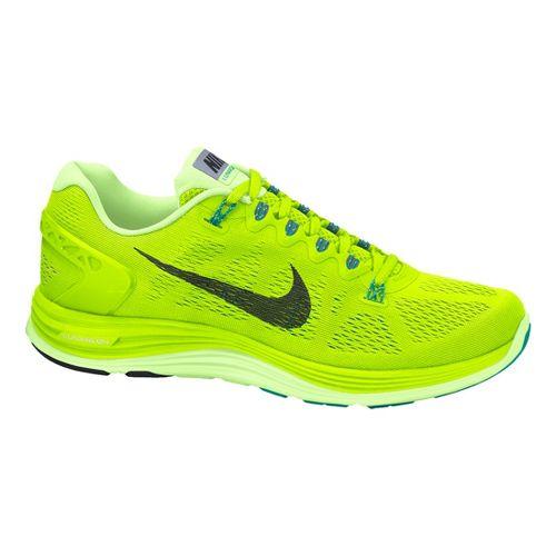 Womens Nike LunarGlide+ 5 Running Shoe - Volt 7.5
