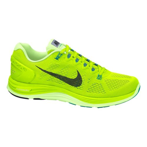 Womens Nike LunarGlide+ 5 Running Shoe - Volt 8