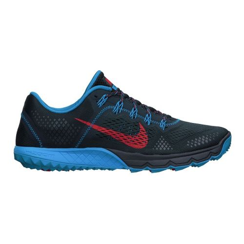 Mens Nike Zoom Terra Kiger Trail Running Shoe - Navy/Blue 8