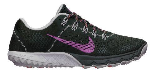 Womens Nike Zoom Terra Kiger Trail Running Shoe - Black/Dark Pink 6