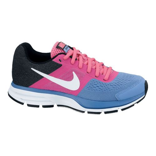 Kids Nike Air Pegasus+ 30 Running Shoe - Blue/Pink 6.5Y