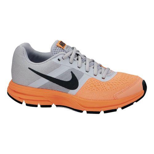 Kids Nike Air Pegasus+ 30 GS Running Shoe - Grey/Orange 4.5