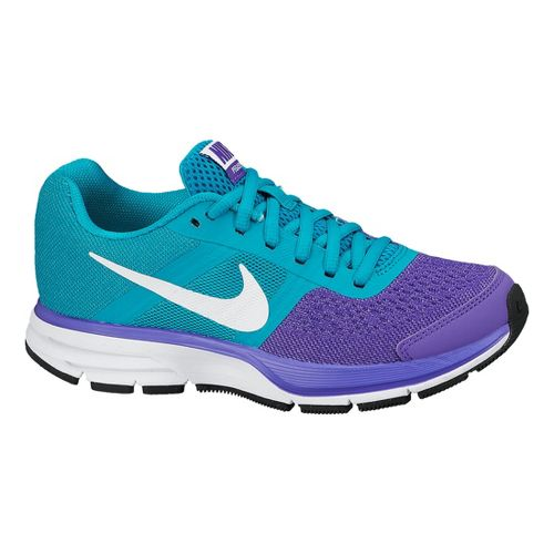 Kids Nike Air Pegasus+ 30 GS Running Shoe - Purple/Turquoise 1.5