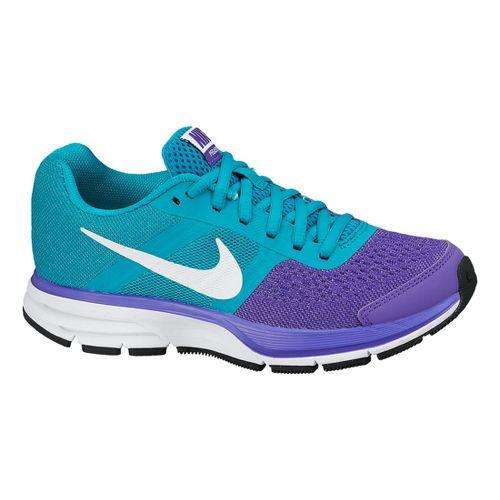 Kids Nike Air Pegasus+ 30 GS Running Shoe - Purple/Turquoise 4.5