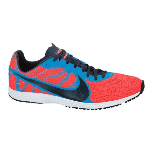 Nike Zoom Streak LT2 Racing Shoe - Neon Red/Blue 4.5