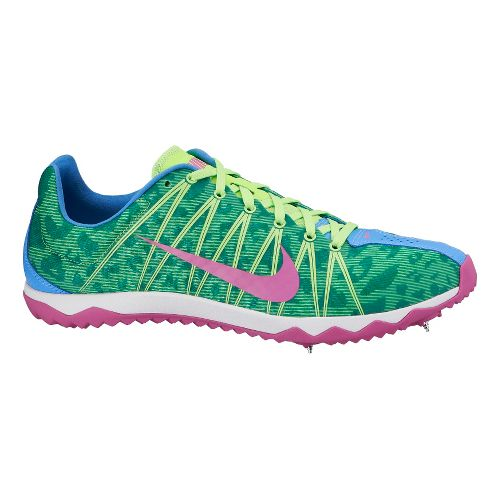 Womens Nike Zoom Rival XC Cross Country Shoe - Blue/Lime 7.5