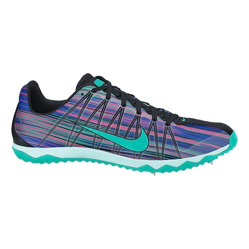 Womens Nike Zoom Rival XC Cross Country Shoe - Purple/Teal 7.5