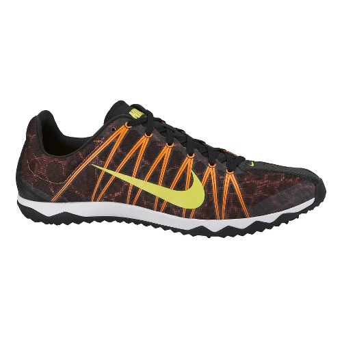 Mens Nike Zoom Rival Waffle Cross Country Shoe - Black/Orange 12.5