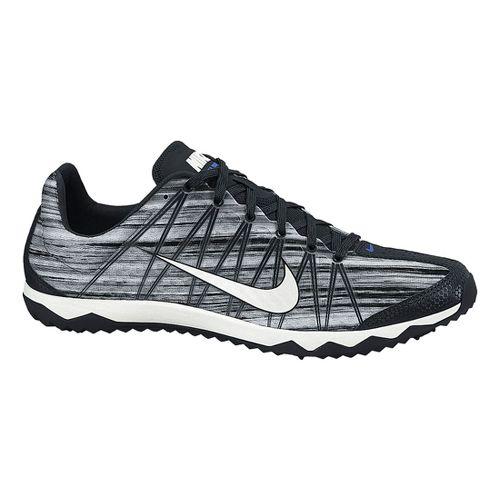Mens Nike Zoom Rival Waffle Cross Country Shoe - Black/White 11
