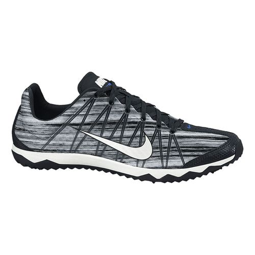 Mens Nike Zoom Rival Waffle Cross Country Shoe - Black/White 14