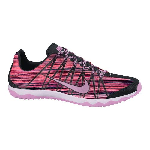 Womens Nike Zoom Rival Waffle Cross Country Shoe - Pink/Black 8